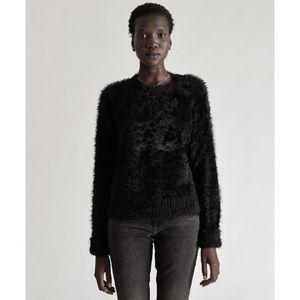 One Teaspoon Sugarloaf Crop Knit Sweater Black S